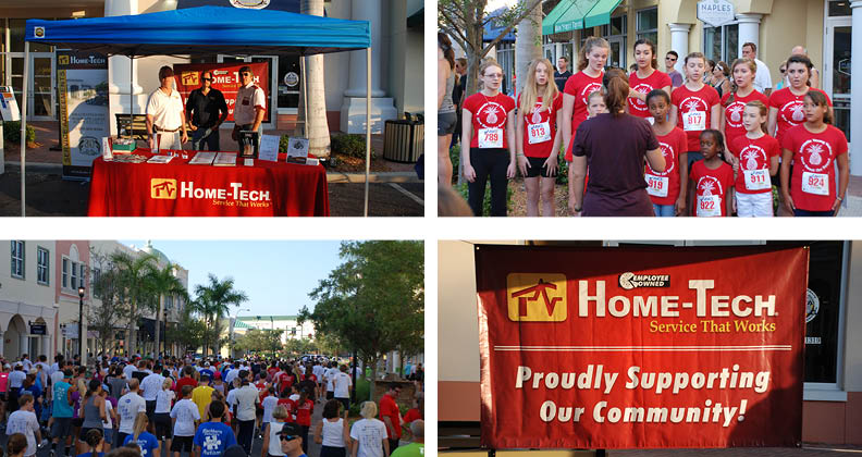 Home-Tech at CARE 5K