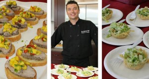 Chef Richard Ramey Cooking with Home-Tech