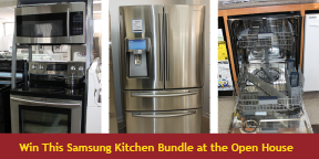 Samsung Kitchen Giveaway at Home-Tech Open House
