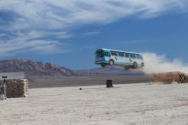 air conditioning bus jumping over unit