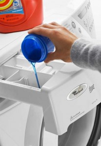 Washing Machine Laundry Detergent Dispensing