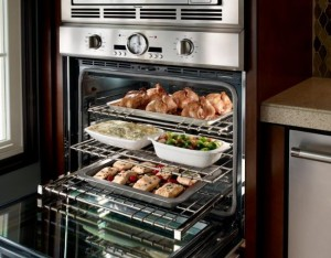 appliances - thermador ovens wall