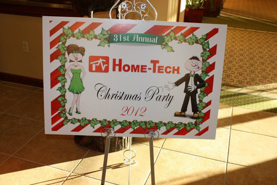 Home-Tech Holiday Party. A Celebration of Service Excellence in 2012.