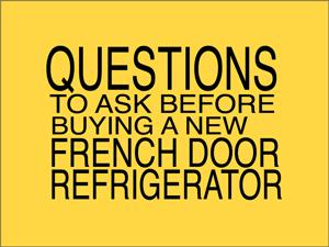 hometech french door refrigerators