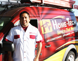 AC unit repair technician Home-Tech