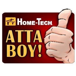 Home-Tech customers give thumbs up