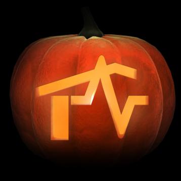 pumpkin with logo