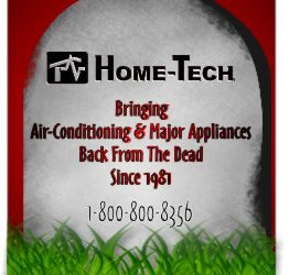 Home-Tech takes the Scare out of a Broken Appliance
