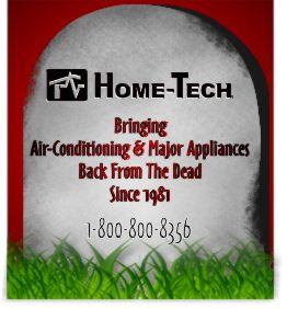 broken appliance Halloween tombstone