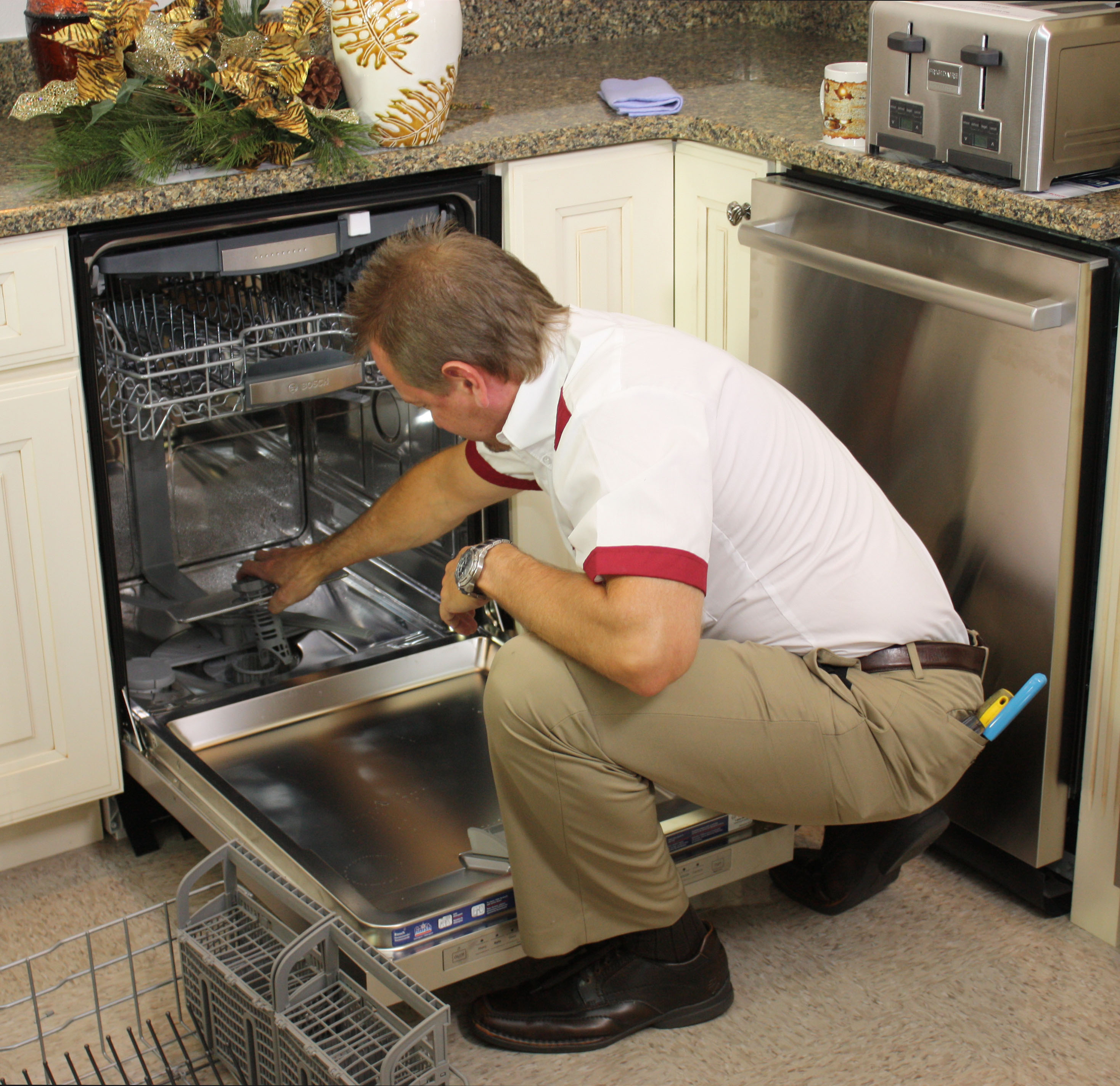 household appliance repair technician