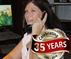 Jacky Maxwell Celebrates Home-Tech's 35th Year Anniversary