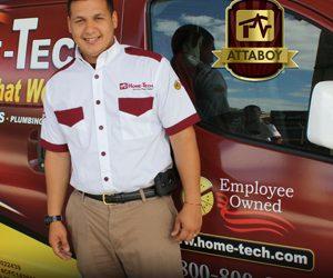 Technician Tuesday Attaboy Reviews for Home-Tech