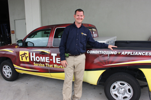 New Home-Tech Air Conditioning Specialist Joe Peed