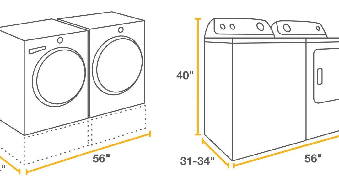 Determining the Perfect Fit for a New Washer and Dryer
