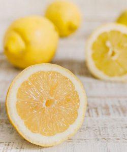 lemons help clean your garbage disposal