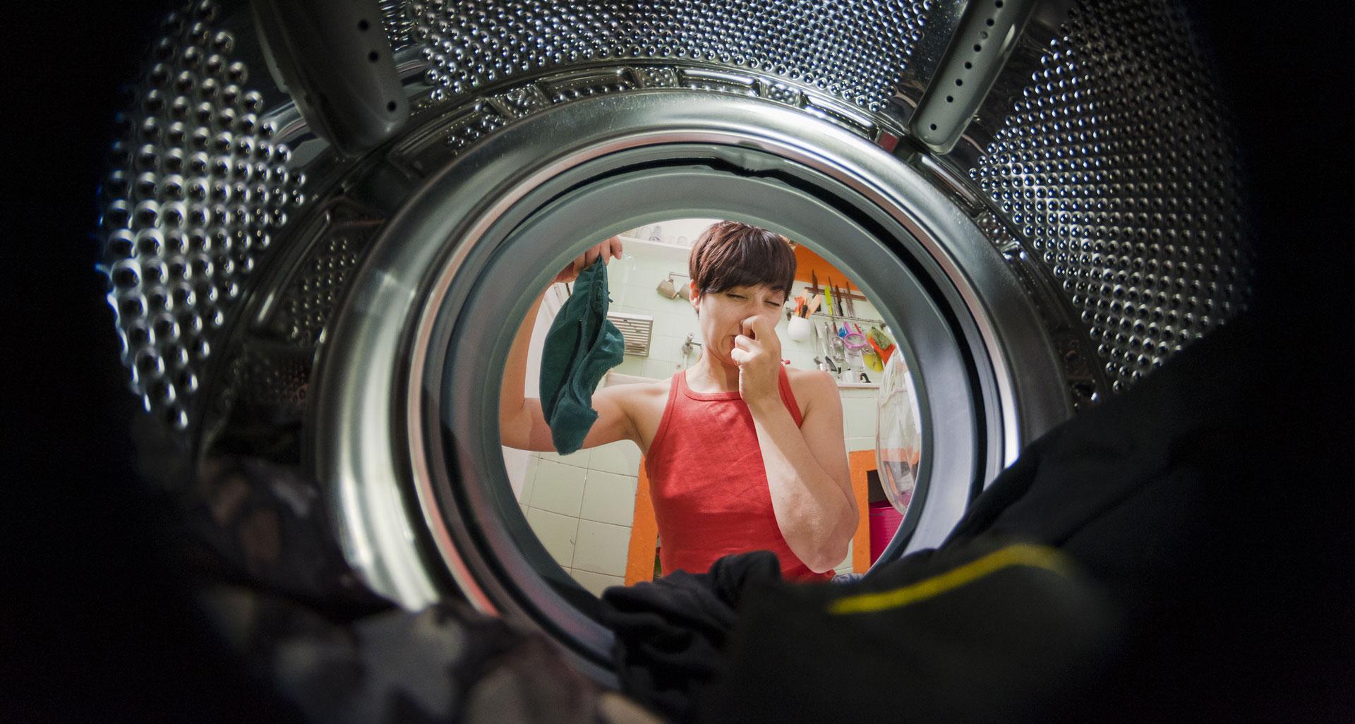 smelly dryer
